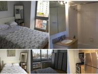 Private room for rent in a spacious two-bedroom, light,