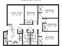 Desperately in search of a sub-leaser: 4 bedroom/2 bath