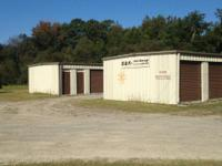 4.3 Acres with public water and sewer. Two self storage