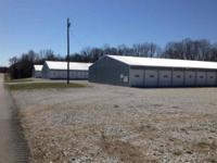 Commercial boat storage with 105 units on 3.36 acres