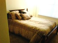 Clean, nice size, freshly painted room available in 4