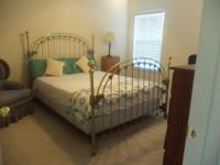 Master Suite, downstairs. Queen bed, desk & desk chair,