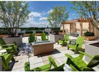 Rooftop Terrace with Fire Pit Lounge Seating, Fittness