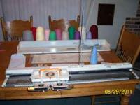 Studio 360-K Knitting Machine & SRP-50 Ribber