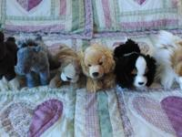 I am offering stuffed animals from our Smoke Free home