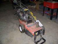 I have a DR professional powered stump grinder for the