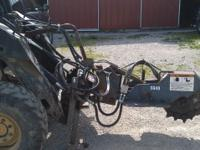 ALITEC skid steer atachment stump grinder. model SG-40,