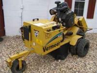 Vermeer SC252, 27 hp. Gas @ 6 gal tank, Cutter head has
