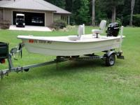 "14'2""- 2005 Allcraft with 2006 25 hp Mercury 4stroke"