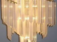 TRULY STUNNING CHANDELIER WHETHER LIT OR UNLIT! 3 TIERS