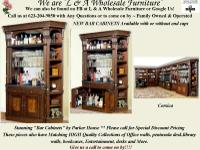 Deluxe Bar Cabinets with Great Looks & & Style by