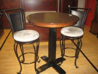Stylish and contemporary table bar elevation with 2