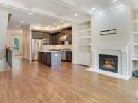 Stunning townhome in Brookhaven. Gourmet kitchen with