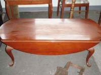 For sale is a Stunning Cherry Table. It measures 50