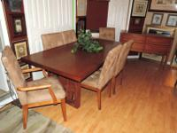 Here is a Stunning Dining Room Set by Baer's Furniture.