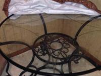 Magnificent glass table for sale. Bought for $360 not