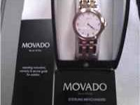 Swiss made. Very unusual styled Movado. Only worn a few