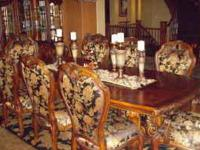 "STUNNING ""PARADE OF HOMES"" DINING ROOM SET BY AICO FINE"