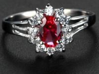 I have a new and beautiful 1.55 ct Ruby ring. It is a