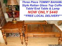 Tommy Bahama Style Coffee Table Set Here is a