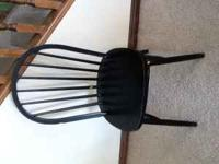 Study chair . . . used as office chair. Call if