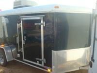 , 2005 (ONE OWNER), UNITED 6X12 PLUS V-NOSE FOREST