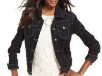 Complete your look with a chic denim jacket!