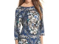 An elegant floral print takes this Style&co. top to the
