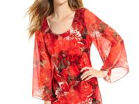 Style&co.'s cheerful tunic adds alluring appeal with