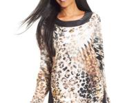 Make a statement in Style&co.'s animal-print tunic
