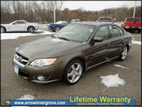 2009 SUBARU LEGACY.2.5i limited a.w.d. super clean and