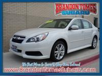 This 2014 Subaru Legacy 2.5i Premium has it all! It has