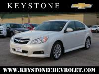 Set your sights on this white 2012 Subaru Legacy 3.6R