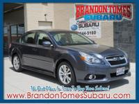 Set your sights on this gray 2014 Subaru Legacy 3.6R