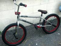 Subrosa Salvador Street BMX Chrome 2012 used only $200