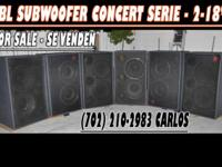 subwoofers and trapezoide jbl for sale se venden bajos
