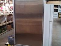 Subzero Refrigerator Features: Stainless steel finish