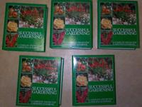 For Sale is a Huge 5 Volume Set of Successful Gardening