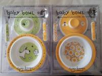 Got 2 SugarBooger Baby Bowl Sets remaining. Come with: