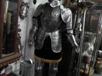 "Suit of Armor.  6' tall + stand 5 1/2""  for more"