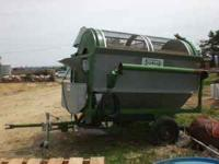 sukup grain cleaner corn and bean screens 8inch loading