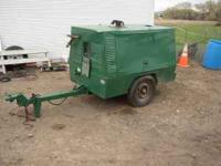 1990s SULLAIR COMPRESSOR, 100CFM, USED TO WINTERIZE
