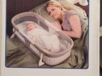 Great co-sleeper for travel or just to have in your bed