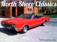 '66 Cutlass - Red 2 door Convertible Restored five