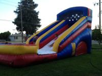 18' Waterslide for your party's or get togethers.