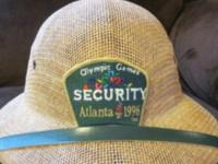 4 Sale Olympic Security hat Authentic 1996 Atlanta