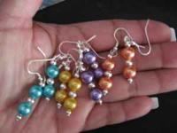 TODAY ONLY !!! PEARLS,,,,,,,,, AND GLASS BEADS ---ARE 3