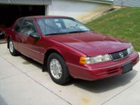 SUMMER SPECIAL MUST SELL NOW !!! 1992 Mercury Cougar