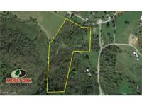 17.7 acres of uninhabited land situated on the edge of