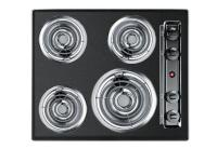 The TEL03 is a 24 in. wide cooktop with a scratch